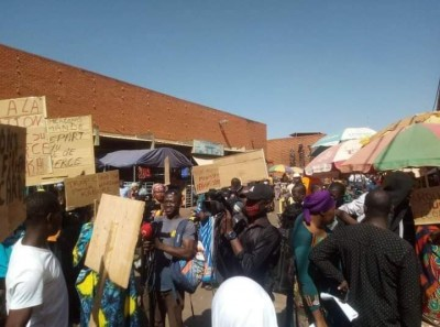 Burkina Faso : Des commerçants manifestent contre une éventuelle reconduction du ministre du commerce