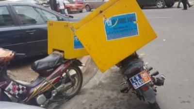 Côte d'Ivoire : La police dément faire  des contrôles particuliers et intempestifs sur les livreurs à motos