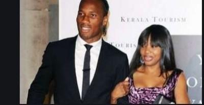 Côte d'Ivoire : Didier Drogba confirme son  divorce avec sa femme Lalla Diakité