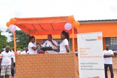 Projet Villages : Tilbonindouo, le 30ème village équipé par la Fondation Orange Côte d'Ivoire