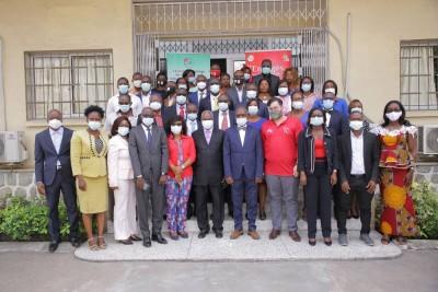 Côte d'Ivoire : Lutte contre le Sida, remise officielle du film institutionnel du PNLS