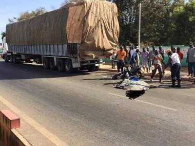Côte d'Ivoire : Drame à Ferké, 02 victimes dans un accident de circulation dont 01 mort
