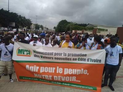 Côte d'Ivoire : Scrutin législatif du 06 mars, le MVCI de Félicien Sekongo désavoue S...