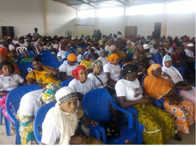 Côte d'Ivoire : RHDP, lancement des activités de la coordination des commerçants pour...
