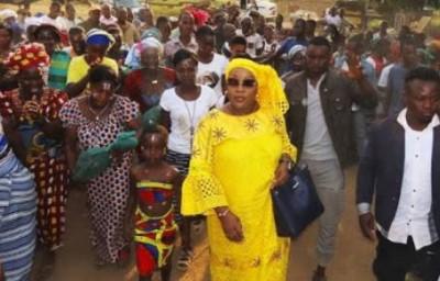 Côte d'Ivoire : A Biankouma, le député sortant Soumahoro Kando désiste pour la fille...