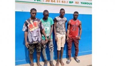 Côte d'Ivoire : Yamoussoukro, fin de parcours pour 04 braqueurs à moto