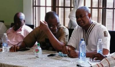Côte d'Ivoire : Bien qu'en exil, Katinan Koné et Damans Pickass candidats aux législa...