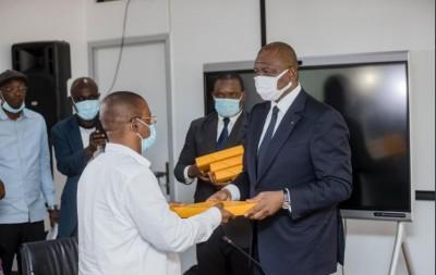 Côte d'Ivoire : Décès des soldats ivoiriens au Mali,  15 millions de FCFA remis à cha...