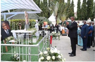 Côte d'Ivoire : Obsèques de Marcel Zady Kessy, l'Etat contribue à hauteur de 20 milli...