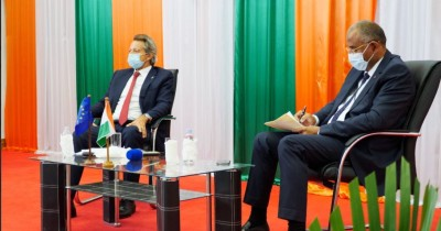 Côte d'Ivoire : Pour l'Ambassadeur de l'UE, le cacao c'est plus que 6 millions d'empl...