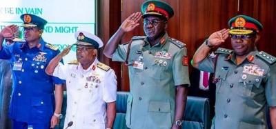 Nigeria : Réaménagement militaire, quatre changements à la tête de l'Armée