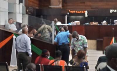 Côte d'Ivoire :    Tribunal, des incidents survenus à l'audience des italiens poursui...