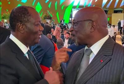 Côte d'Ivoire : Pour l'élection de jacques Anouma à la présidence de la CAF, Ouattara...