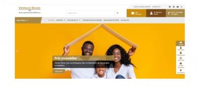 Côte d'Ivoire : Versus Bank lance son nouveau site internet