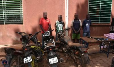 Burkina Faso : Lutte contre le banditisme, deux groupes de malfaiteurs aux arrêts