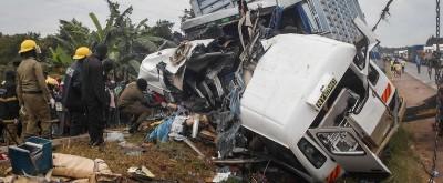 Ouganda : Un carambolage impliquant un convoi funéraire fait 32 morts