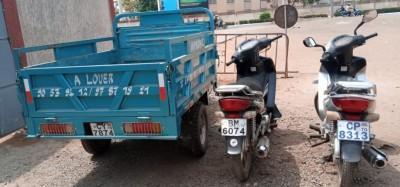 Togo-Ghana :  Appel à récupérer trois engins volés et retrouvés au Ghana