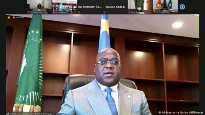 RDC-Afrique : Félix Tshisekedi «honoré» de prendre la tête de l'Union africaine