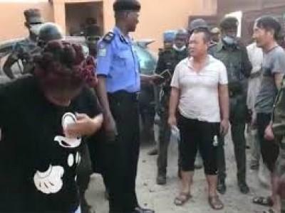 Nigeria : Trois chinois kidnappés dans l'Etat d'Osun libérés par la police