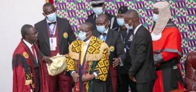 Ghana :  Suspension des activités parlementaires, la cause