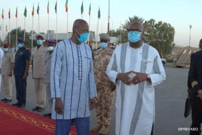 Burkina Faso : Sommet du G5 Sahel, le président du Faso à N'Djamena