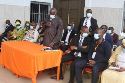Côte d'Ivoire : Yopougon, répondant aux pics des candidats EDS-PDCI, Kafana à son commando « Notre ambition est de clore ici un débat à Yopougon »