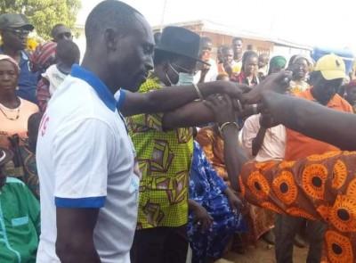 Côte d'Ivoire : Soro Seydou, cadre du FPI rentré discrètement d'exil du Ghana, rejoint sa base à Korhogo