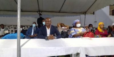 Côte d'Ivoire:   Législatives 2021 au Plateau, Sawegnon à propos de Ehouo : « C'est parce qu'il est député, qu'il a une immunité et puis il peut voler »