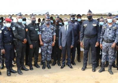 Côte d'Ivoire : Plus de 2000 forces de sécurité   mobilisées au quotidien pour l'opération « Epervier6 », Vagondo rassure : « Nous remporterons la bataille de la sécurité Publique »