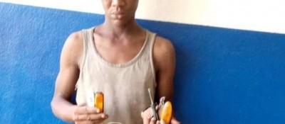 Côte d'Ivoire : Arrestation d'un spécialiste en vol de feux clignotants