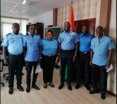 Côte d'Ivoire-Mali : Cinq fonctionnaires de Police déployés à la Minusma pour un tour de service