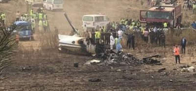 Nigeria :   Crash d'un avion militaire à Abuja, 7 morts