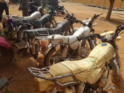 Burkina Faso : Lutte contre la fraude, une importante quantité de produits de contrebande saisie