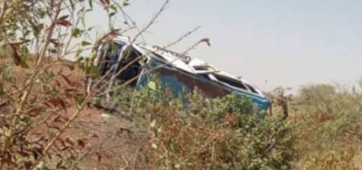 Burkina Faso : Quatre morts dans un accident de circulation