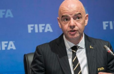 Côte d'Ivoire : Après l'indignation  de Jacques Anouma, le président de la FIFA annoncé à Abidjan vendredi