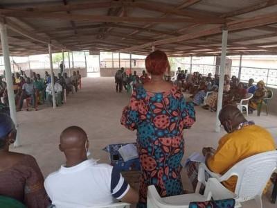 Côte d'Ivoire : FPI, la guerre du logo, depuis Gagnoa, Marie Odette « Ne vous fiez pl...