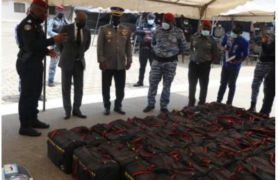 Côte d'Ivoire : Cocody, Saisie record de 1056 Kg de cocaïne  d'une valeur de 25 milliards de FCFA par la Gendarmerie
