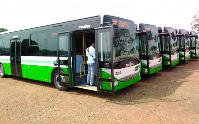 Côte d'Ivoire : Bouaké, la SOTRA attend son entrepôt pour garder ses autobus en sécur...