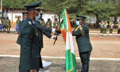Côte d'Ivoire : Bouaké, le Lt-Colonel Asséké Nazaire nouveau commandant du 3e bataill...