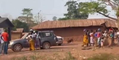 Côte d'Ivoire : Niakara, un véhicule d'un candidat indépendant percute une moto, un m...