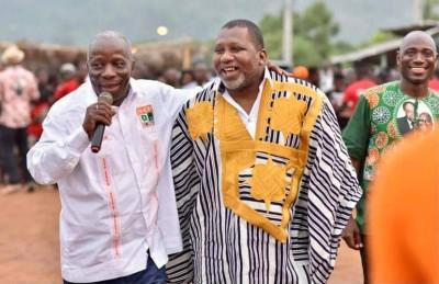 Côte d'Ivoire : A Man, guéguerre entre cadres du RHDP, Sidiki Konaté accuse le chargé...