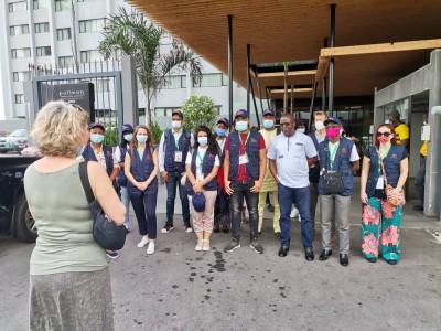 Côte d'Ivoire : Législatives 2021, la mission d'observateurs de l'EISA et le Centre C...