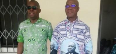 Côte d'Ivoire : Législatives 2021 à Bloléquin, un membre de l'équipe de campagne du c...
