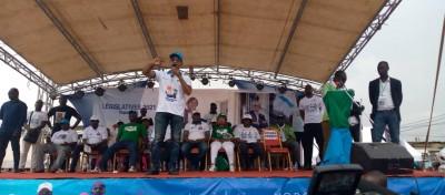 Côte d'Ivoire : Meeting de clôture des candidats de l'opposition PDCI-EDS à Yopougon...