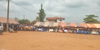 Côte d'Ivoire : Niakara, suite au décès d'une candidate, l'élection législative repor...