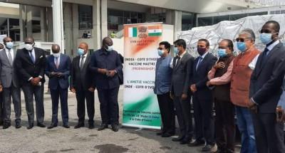 Côte d'Ivoire : Vaccin contre la covid-19, l'Inde s'y met et envoie des doses