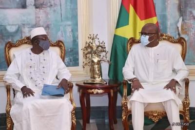 Burkina Faso : Le nouveau chef de file de l'opposition chez le président Kaboré