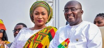 Ghana :  Accusé de polygamie, le Vice-président Bawumia atteste Samira sa seule femme