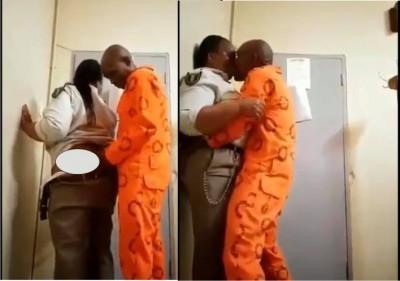Afrique du Sud : Une gardienne de prison filmée en plein ébat sexuel avec un détenu