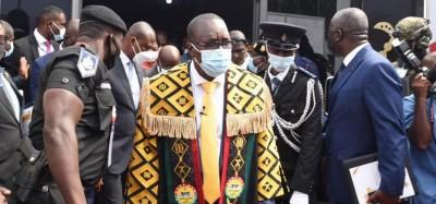 Ghana : Parlement, le Numéro 3 du pays imprime son autorité sur le chef de la majorité présidentielle